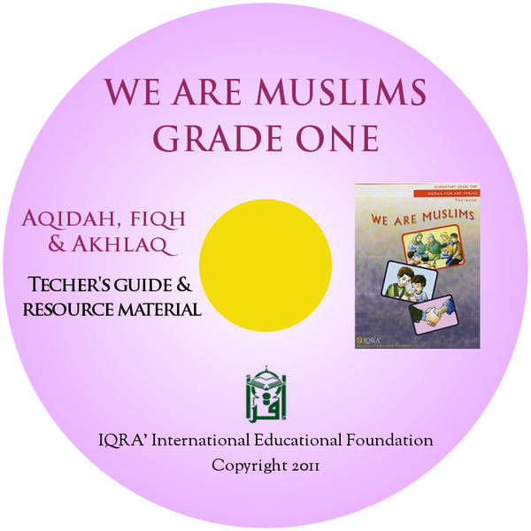 We are Muslims Teacher's Manual CD Grade 1