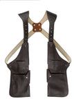 Leather Holster Shoulder Bag Classic Brown