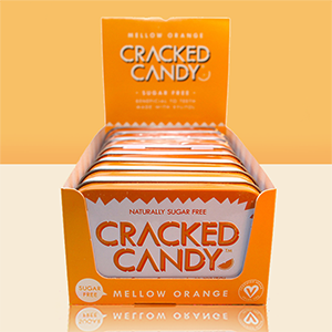 Tangy Mellow Orange: 8 pack (sugarfree xylitol candy)