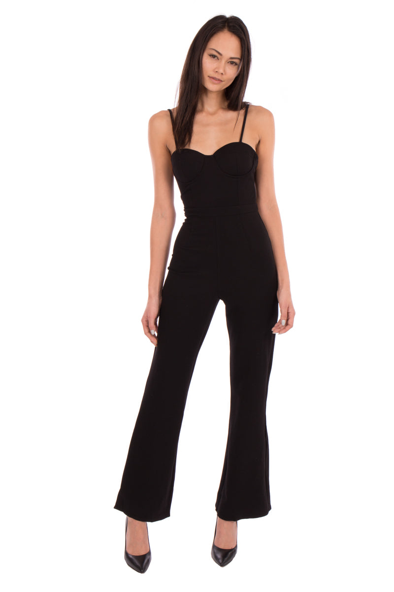 LINEN CROP JUMPSUIT