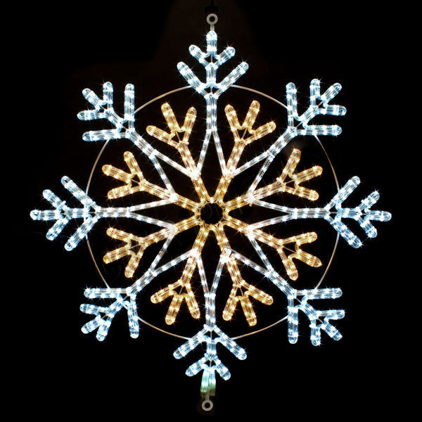Snowflake Light Displays