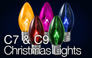 C7 & C9 Christmas Bulbs