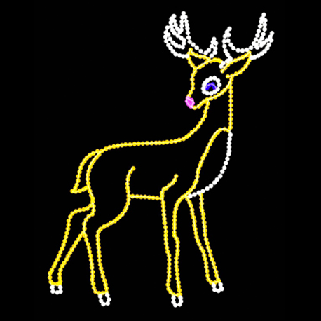 Deer Light Displays