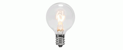 G40 Patio Light Bulbs
