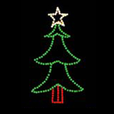 Tree Light Displays