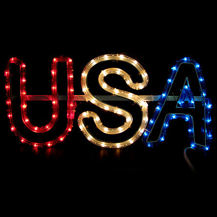 Patriotic Light Displays