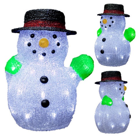 Snowman with Hat | All American Christmas Co