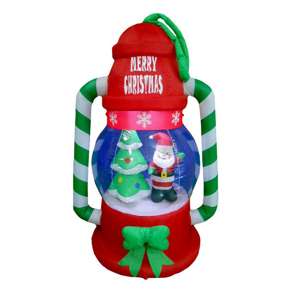 Santa Lantern Inflatable | All American Christmas Co