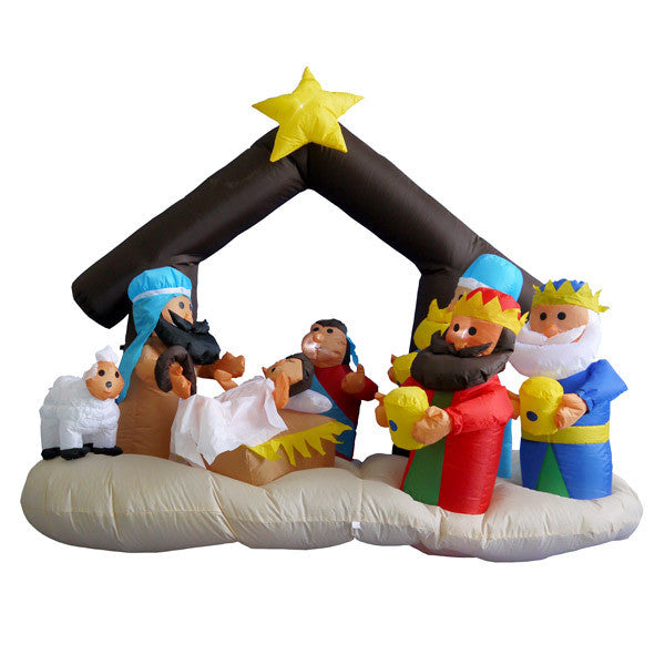 Inflatable Nativity Scene