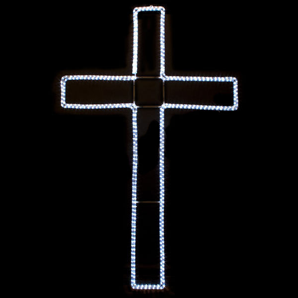 Small LED Cross | All American Christmas Co