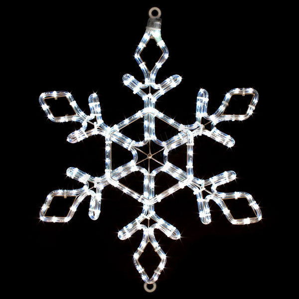 "22"" LED Snowflake 