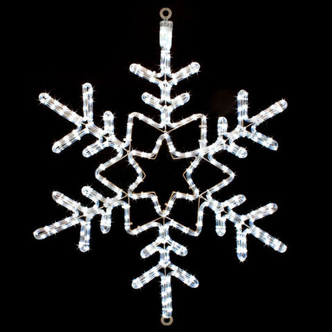 "28"" LED Snowflake 
