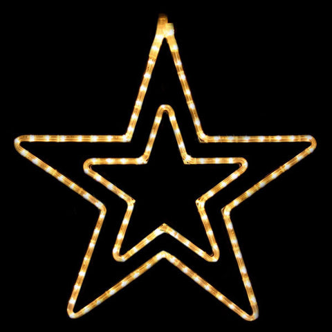 LED Double Star | All American Christmas Co