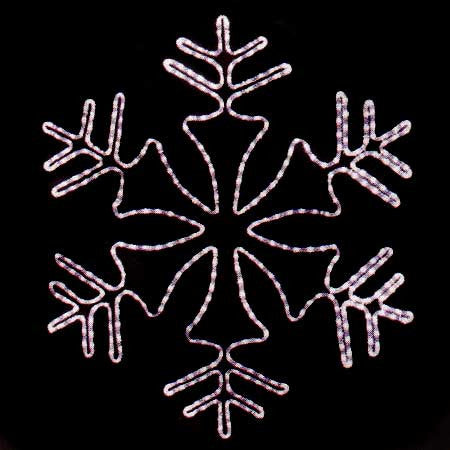 "35"" LED Snowflake 
