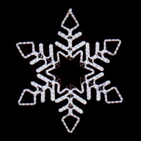 "30"" LED Snowflake 