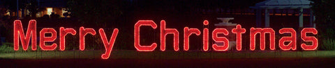 Large Merry Christmas Sign