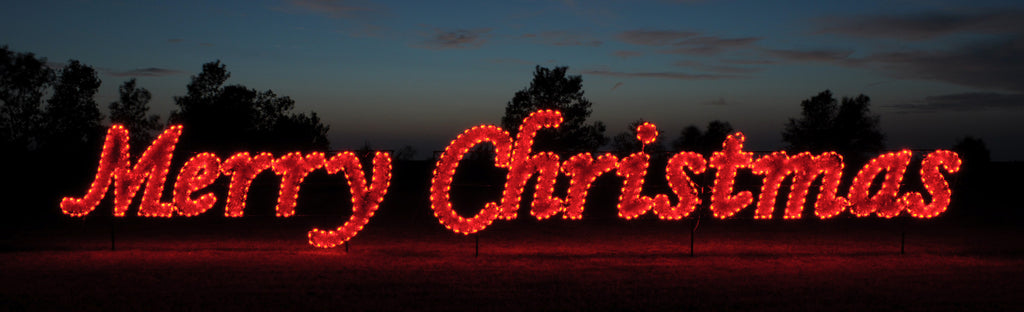 - Merry Christmas Lighted Sign Outdoor Lighted Merry Christmas
