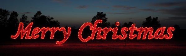 Commercial Merry Christmas Sign