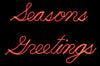 Seasons Greetings Script Sign | All American Christmas Co