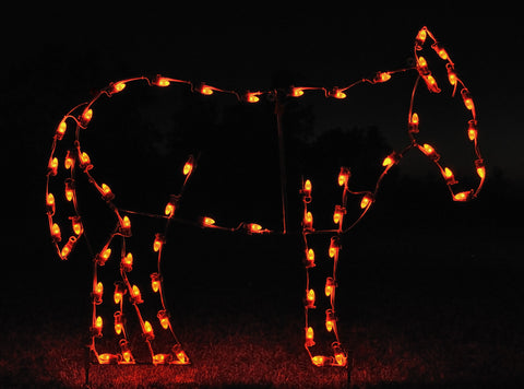 Standing Donkey | All American Christmas Co