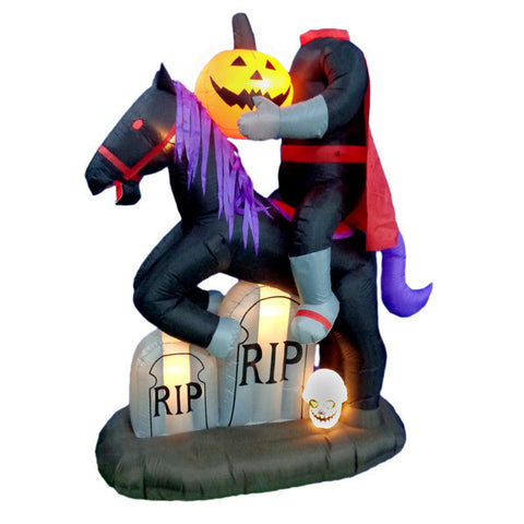 Headless Horseman Inflatable | All American Christmas Co