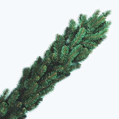 "9' x 14"" Noble Fir Garland - Pre-Lit - Clear"