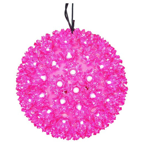 LED Starlight Sphere - 6 Inch - 50 Count - Pink