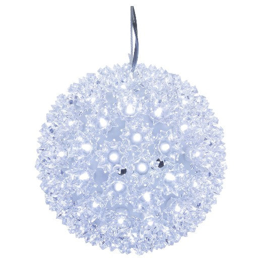 LED Starlight Sphere - 10 Inch - 150 Count - Pure White | All American Christmas Co