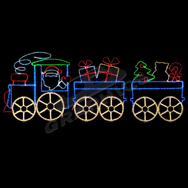 Santa's Toy Train | All American Christmas Co
