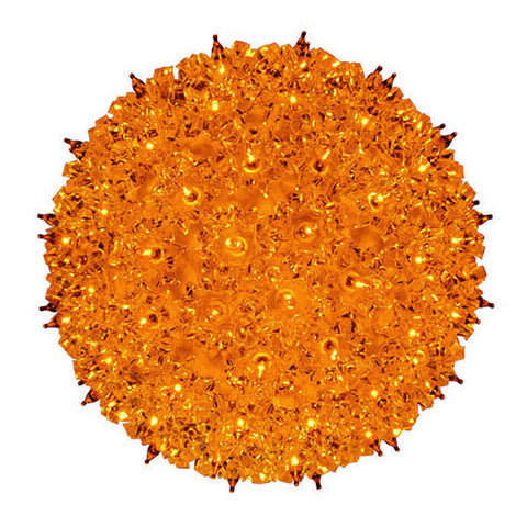"7.5"" Orange Starlight Sphere 