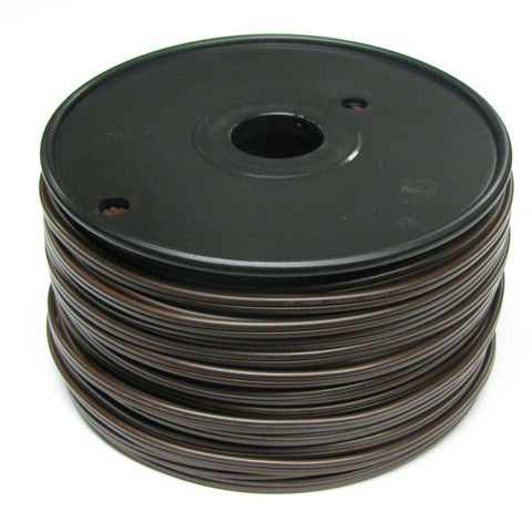 250' Bulk Wire Spool - Brown Wire - SPT-1 | All American Christmas Co