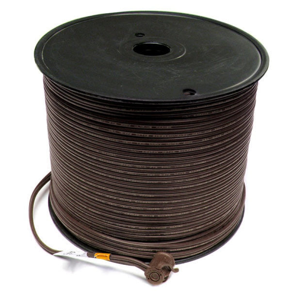 500' Bulk Wire Spool - Brown Wire - SPT-2 | All American Christmas Co