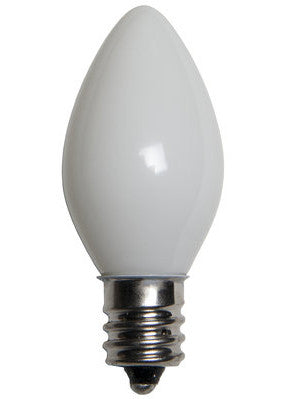 C7 Opaque Lights - White - 25 Pack