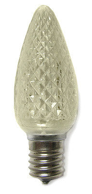 C9 LED Twinkle Bulbs - Warm White - 25 Pack | All American Christmas Co