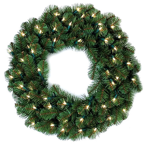 "24"" Canadian Fir Wreath 