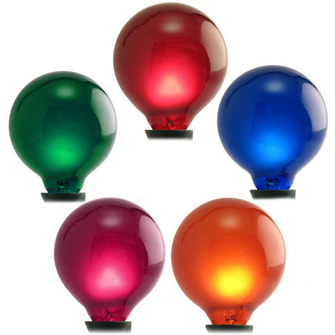 G50 Patio Lights - E-12 - Multi - 25 Pack | All American Christmas Co