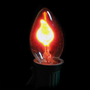 Flicker Flame Traditional Bulbs - 3 Pack | All American Christmas Co
