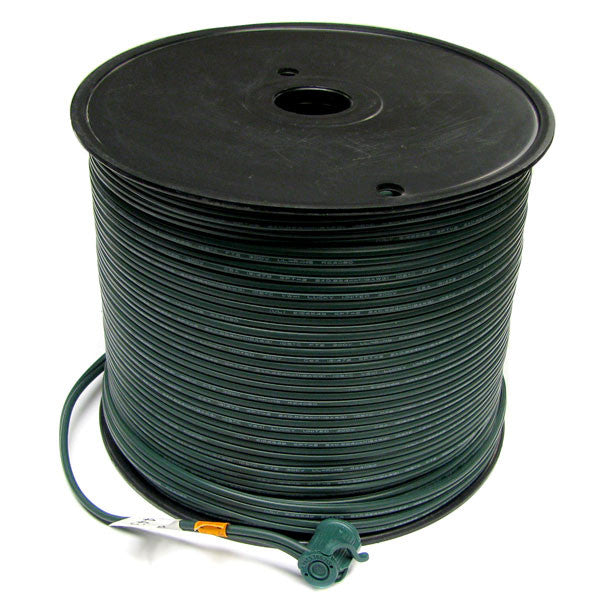 500' Bulk Wire Spool - Green Wire - SPT-1 | All American Christmas Co