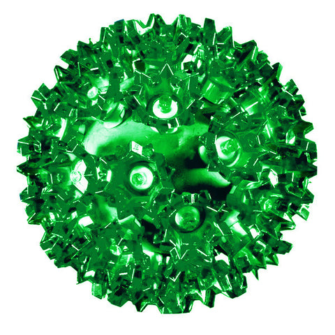 LED Starlight Sphere - 6 Inch - 50 Count - Green