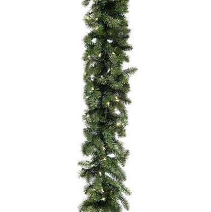 "9' x 24"" Oregon Fir Garland 