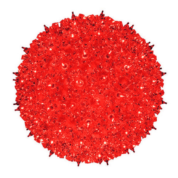 "10"" Red Starlight Sphere 