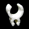"1/8"" Mini Light Sculpture Clips - 100 Pack - White"