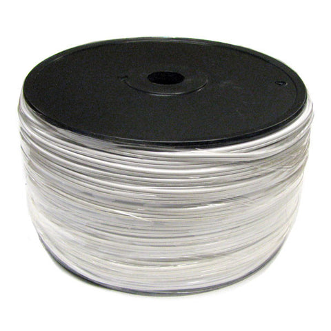 1000' Bulk Wire Spool - White Wire - SPT-1 | All American Christmas Co