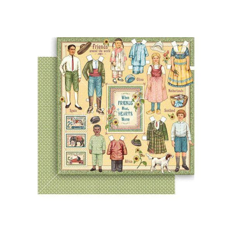 Penny's Paper Doll Family - Forever Friends