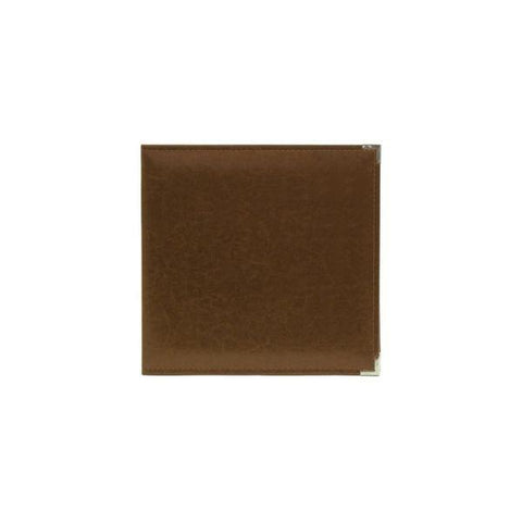 Classic Leather 3 Ring Album - Dark Chocolate