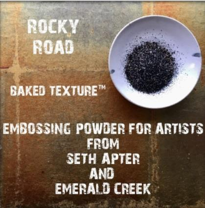 Baked Texture Embossing Powder - Rocky Road