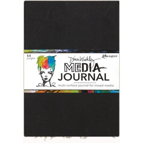 "Dina Wakley Media Journal - Large (10"" x 14"")"