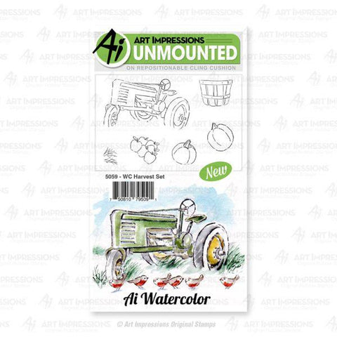 Watercolor Stamps - Harvest Set