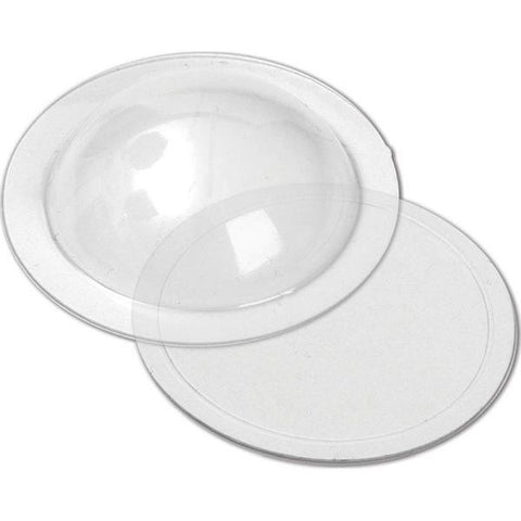 "Clear Domes - 1.25"" Diameter"