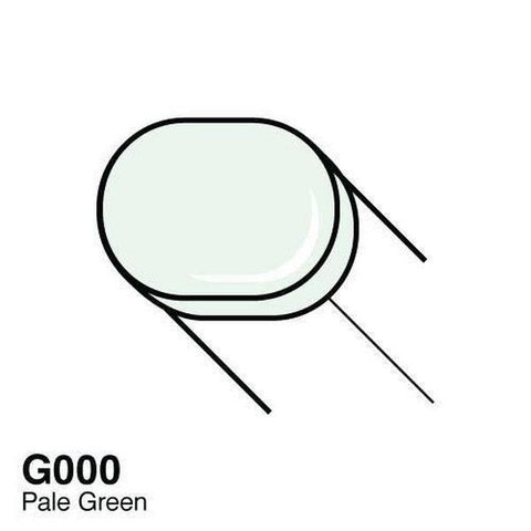 Copic Sketch Marker - G000 - Pale Green
